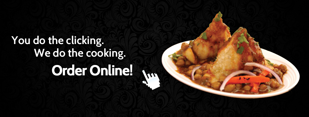 You Do the Clicking, We do the Cooking – Order Online