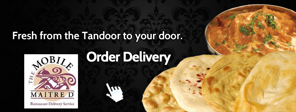 From the Tandoor, to your door.