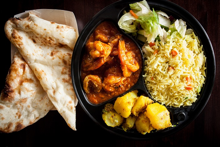 Prawn Curry Combo Clay Oven Winnipeg East Indian